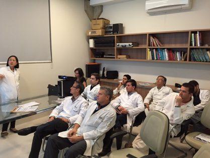 Participação do IUP em Treinamento do Laboratório Astellas - Speaker Training